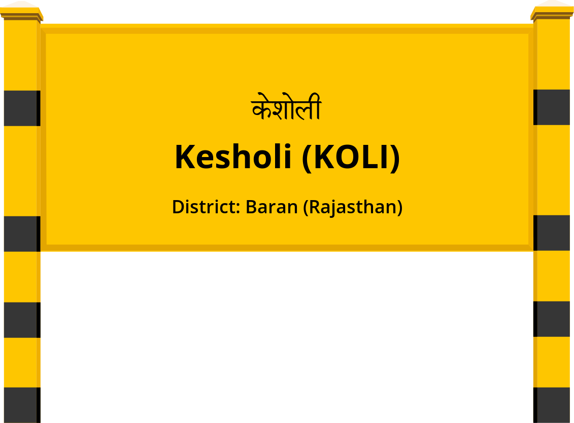 Kesholi (KOLI) Railway Station