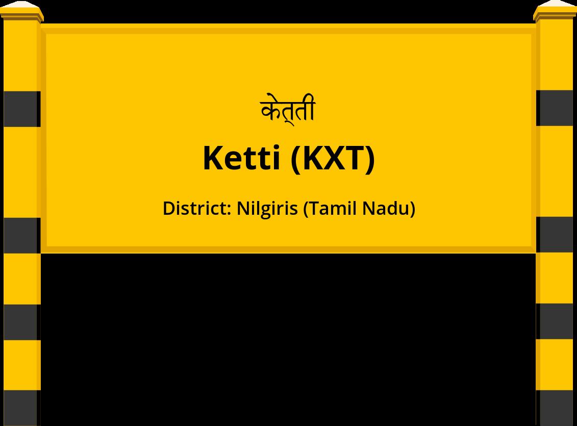 Ketti (KXT) Railway Station