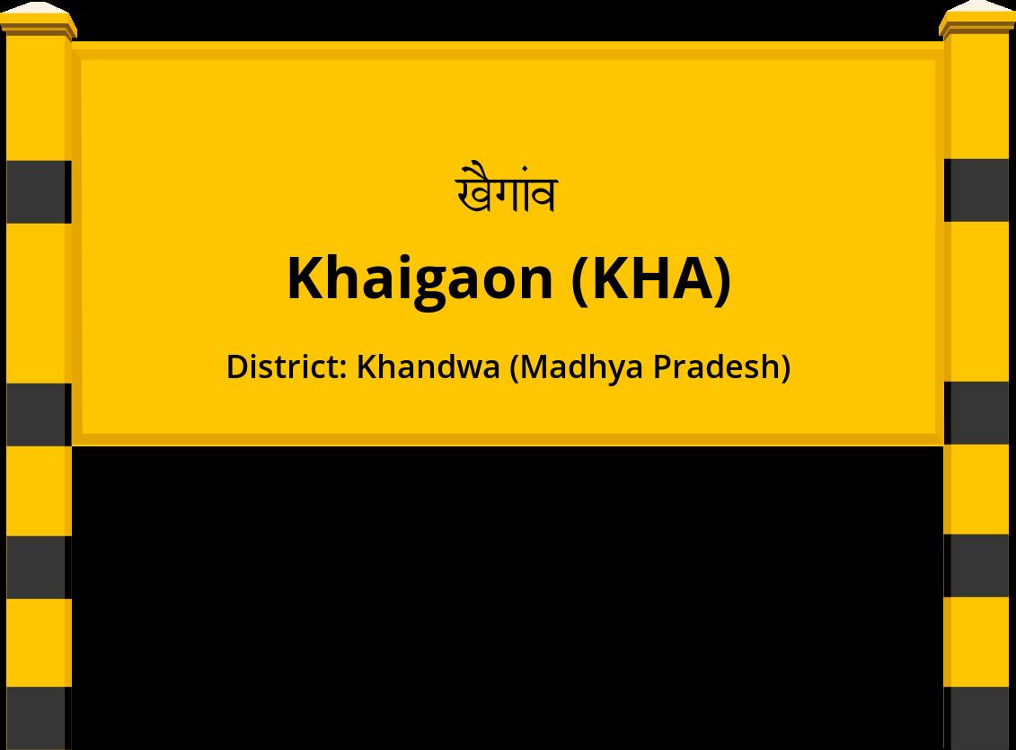 Khaigaon (KHA) Railway Station