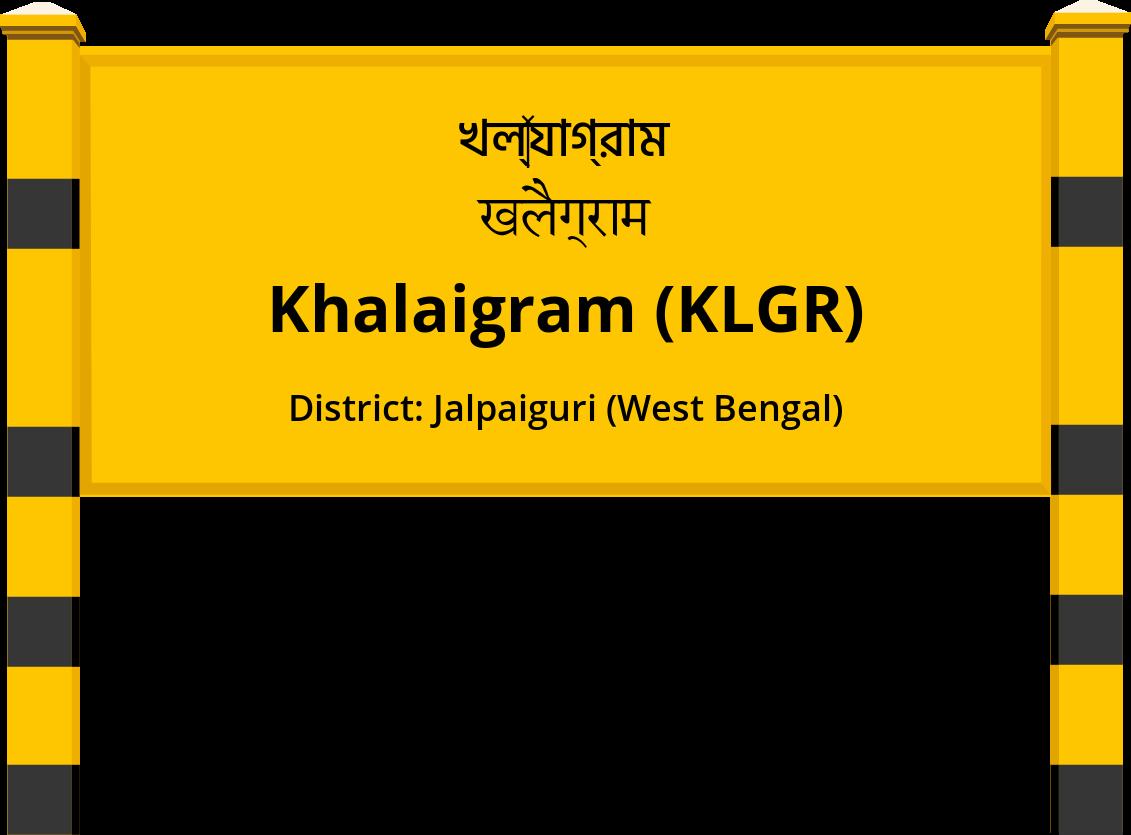 Khalaigram (KLGR) Railway Station