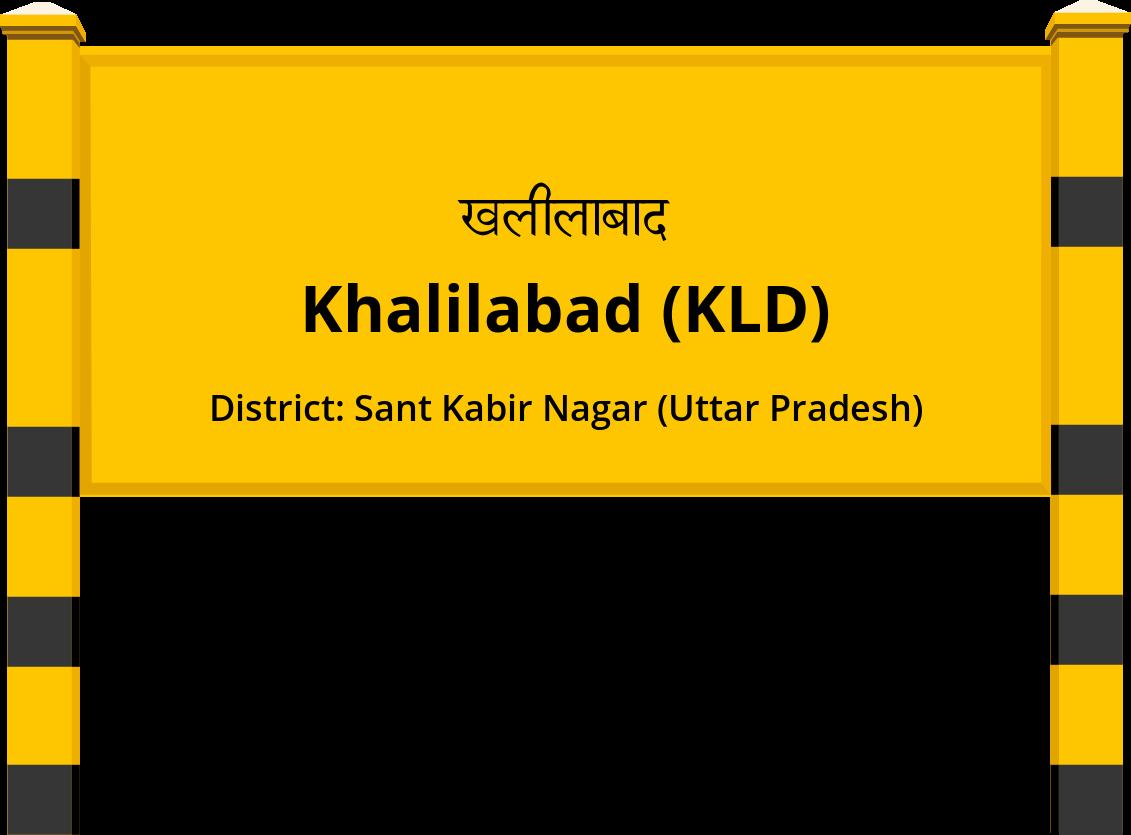 Khalilabad (KLD) Railway Station