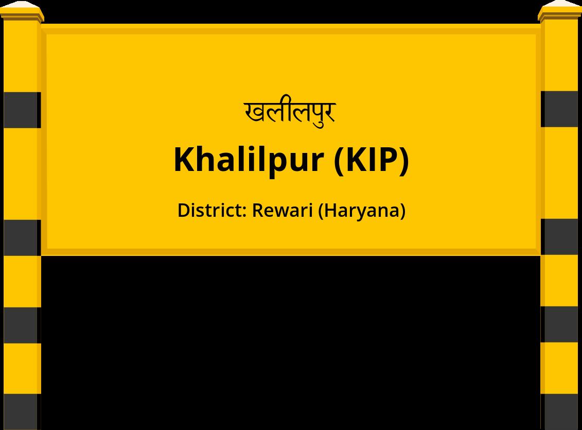Khalilpur (KIP) Railway Station