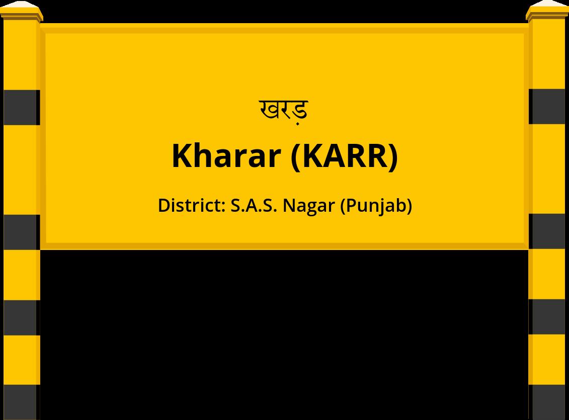 Kharar (KARR) Railway Station