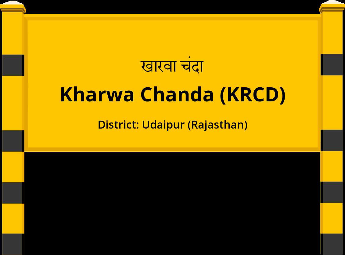 Kharwa Chanda (KRCD) Railway Station