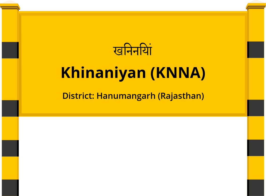 Khinaniyan (KNNA) Railway Station