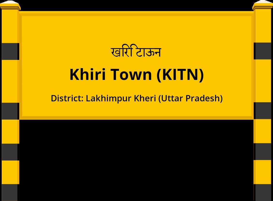 Khiri Town (KITN) Railway Station