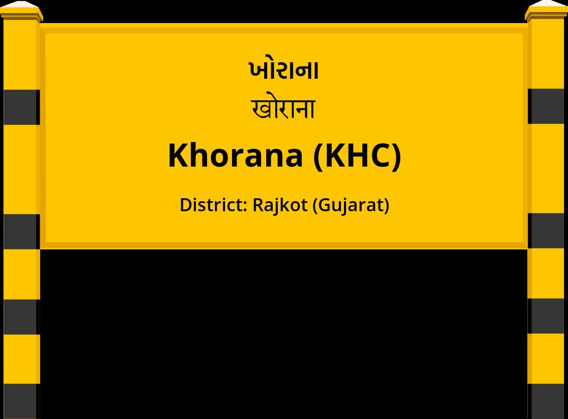 Khorana (KHC) Railway Station