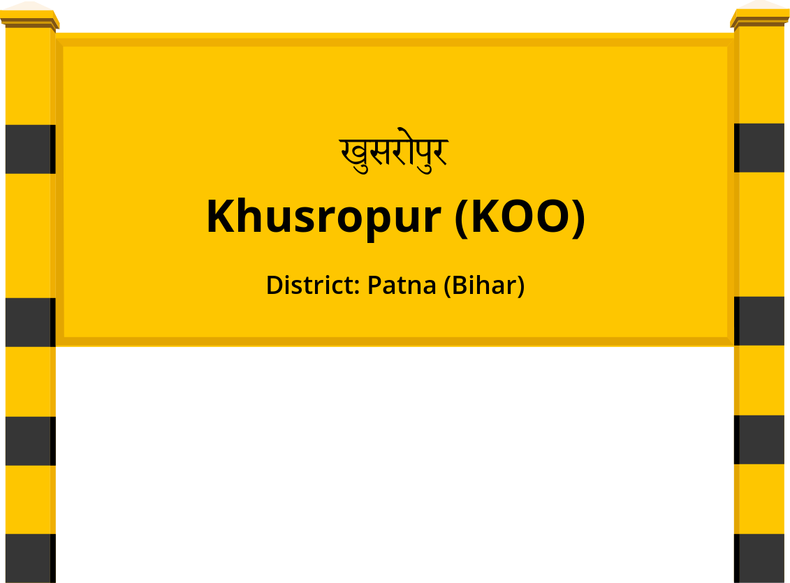 Khusropur (KOO) Railway Station