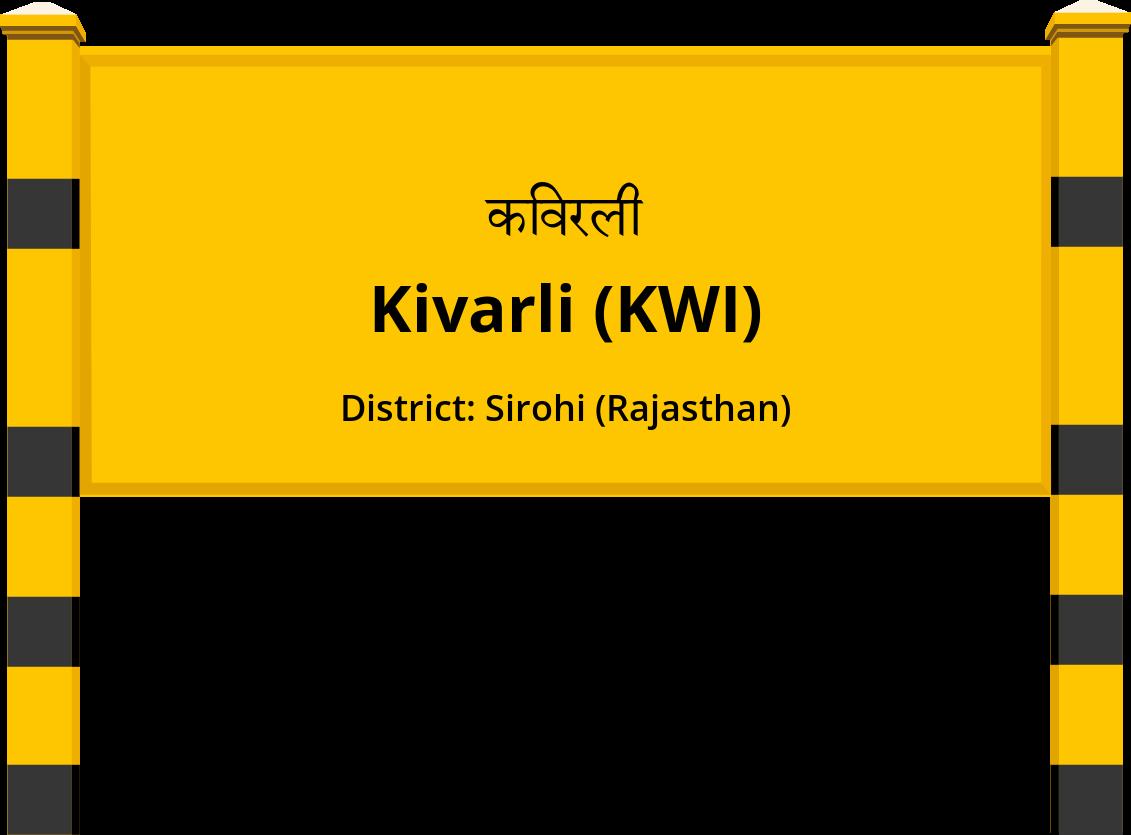 Kivarli (KWI) Railway Station