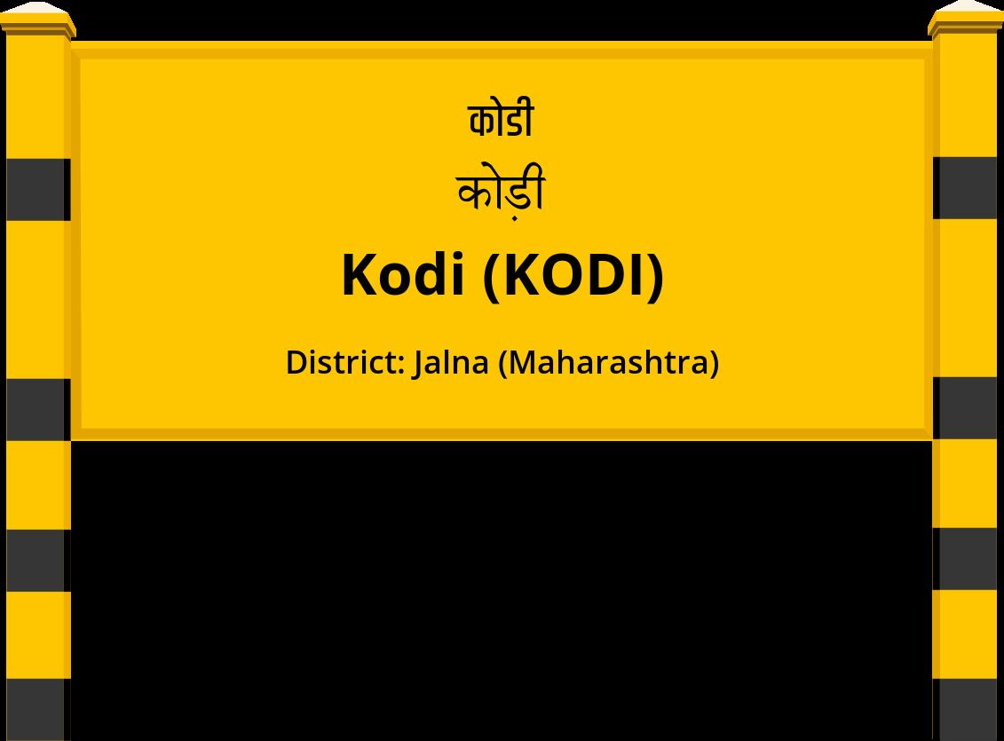 Kodi (KODI) Railway Station