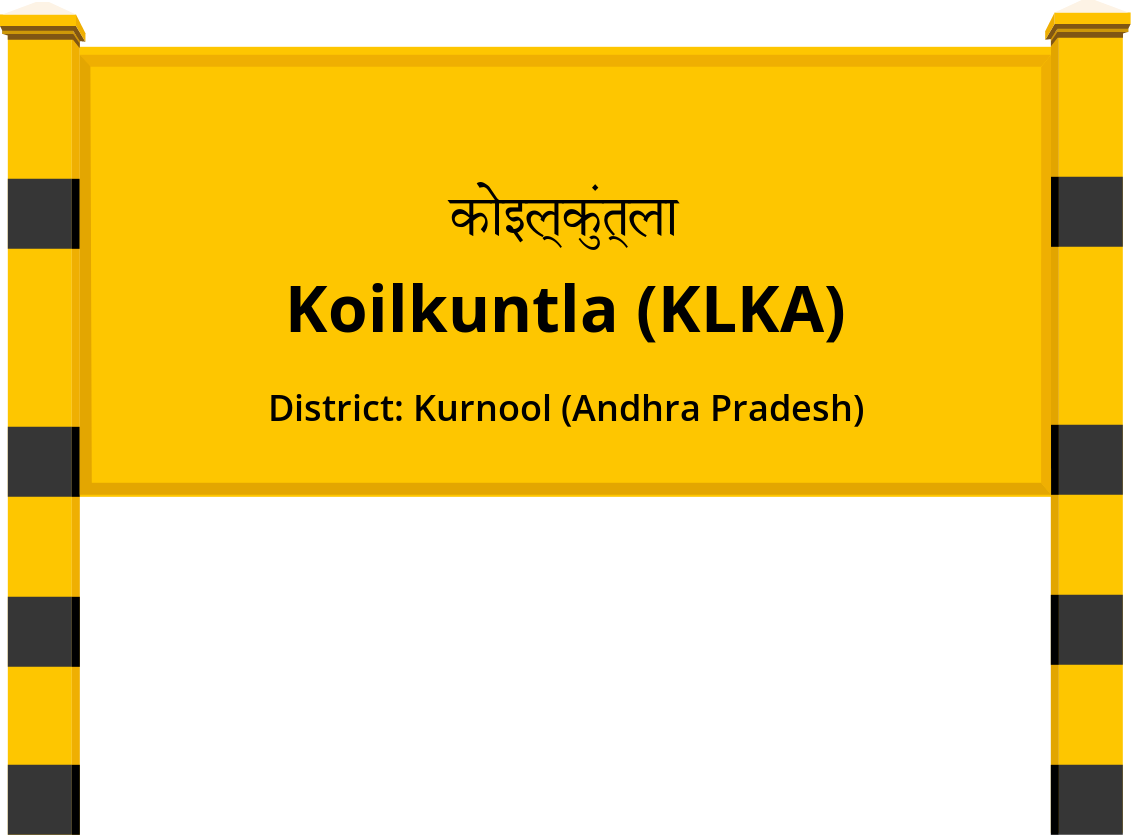 Koilkuntla (KLKA) Railway Station