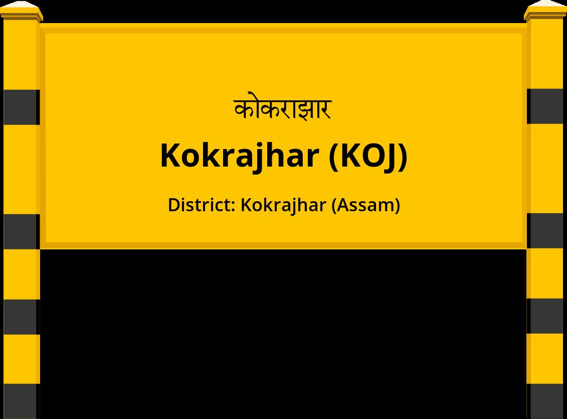 Kokrajhar (KOJ) Railway Station