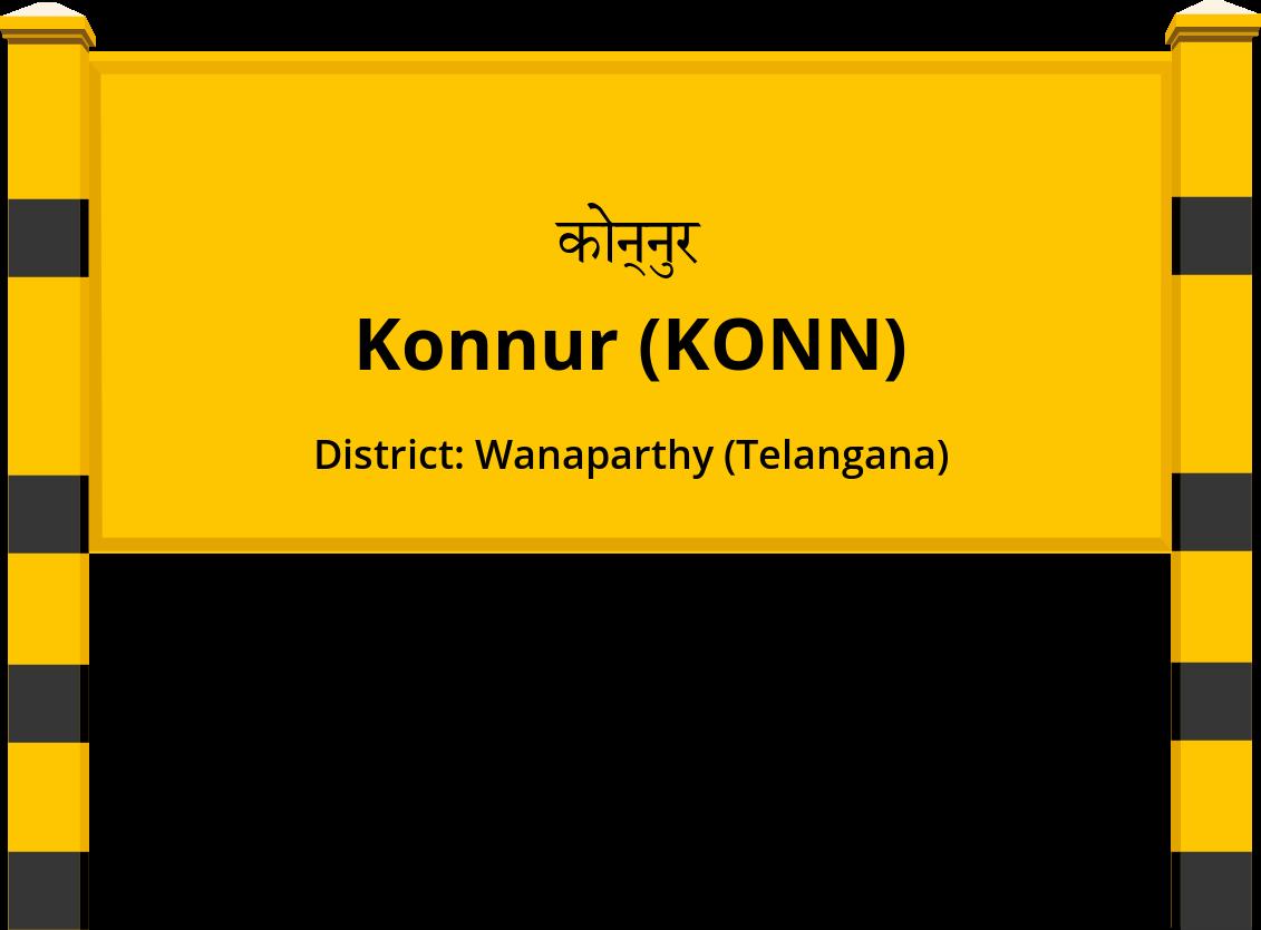 Konnur (KONN) Railway Station