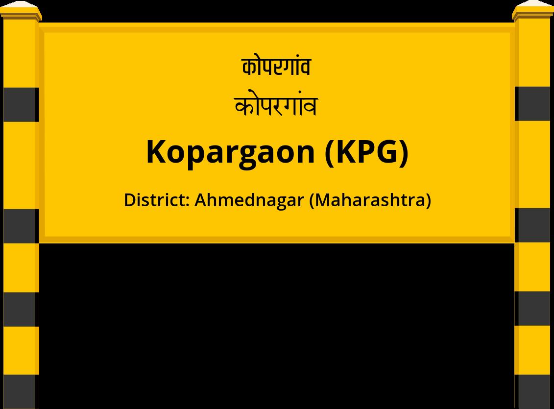 Kopargaon (KPG) Railway Station