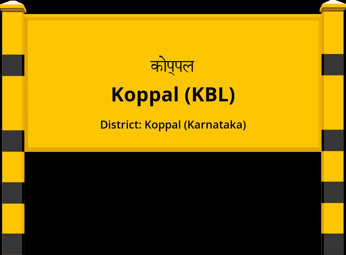 Koppal (KBL) Railway Station