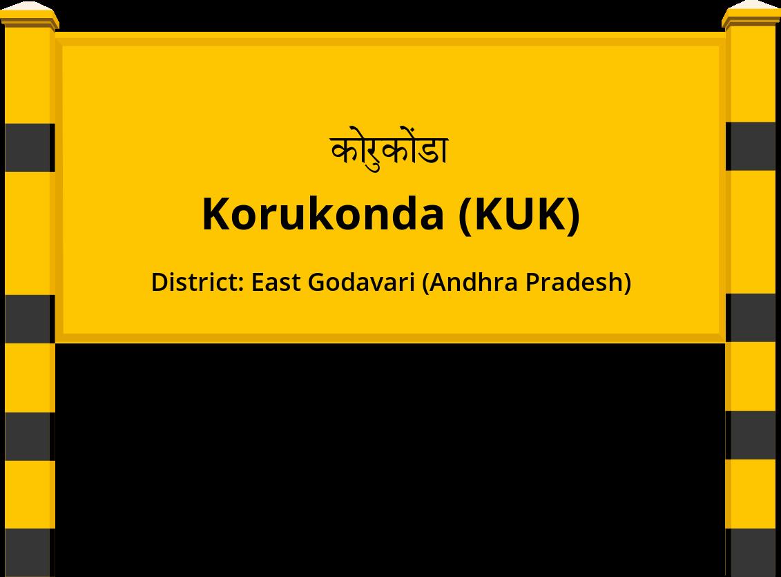 Korukonda (KUK) Railway Station