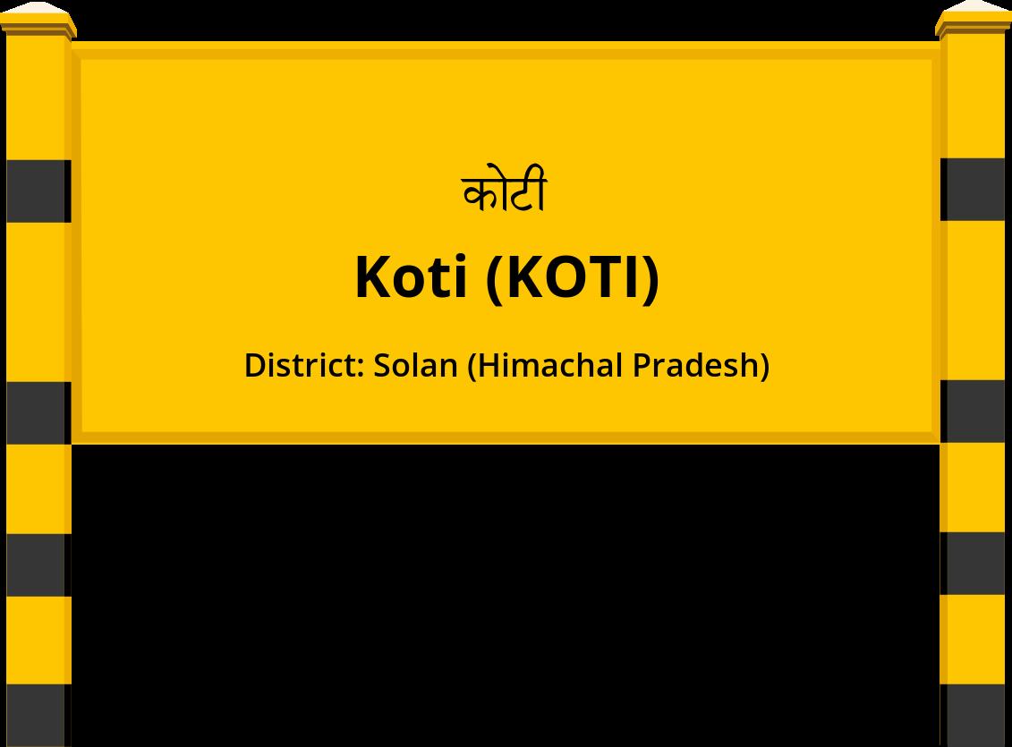 Koti (KOTI) Railway Station
