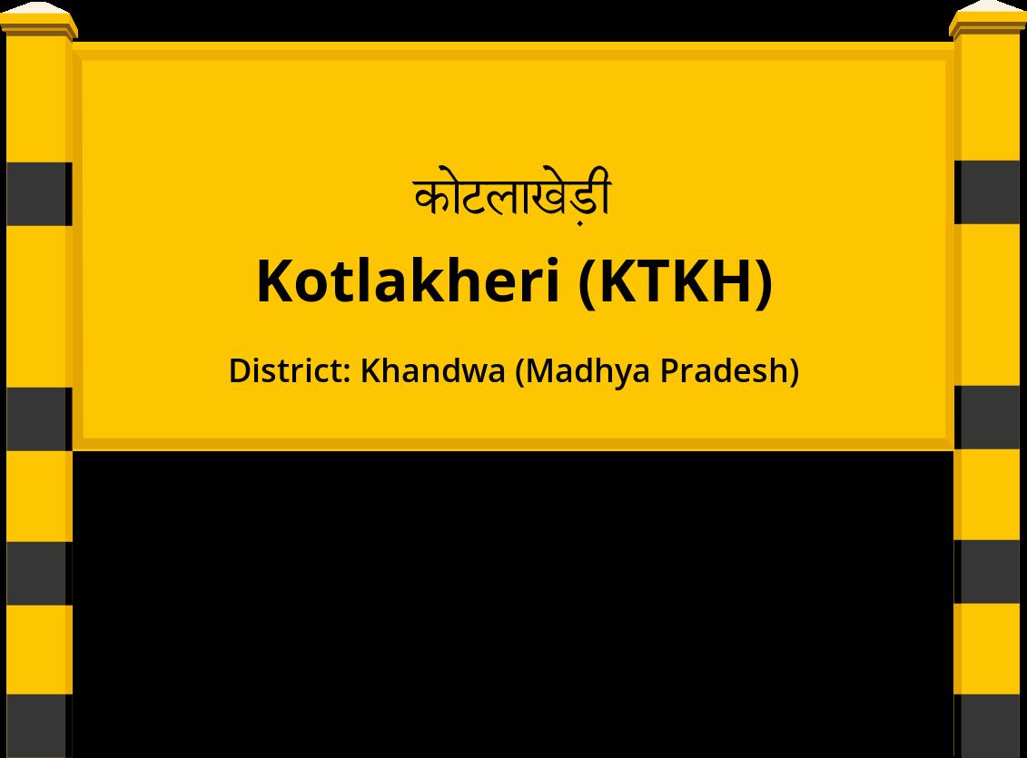 Kotlakheri (KTKH) Railway Station
