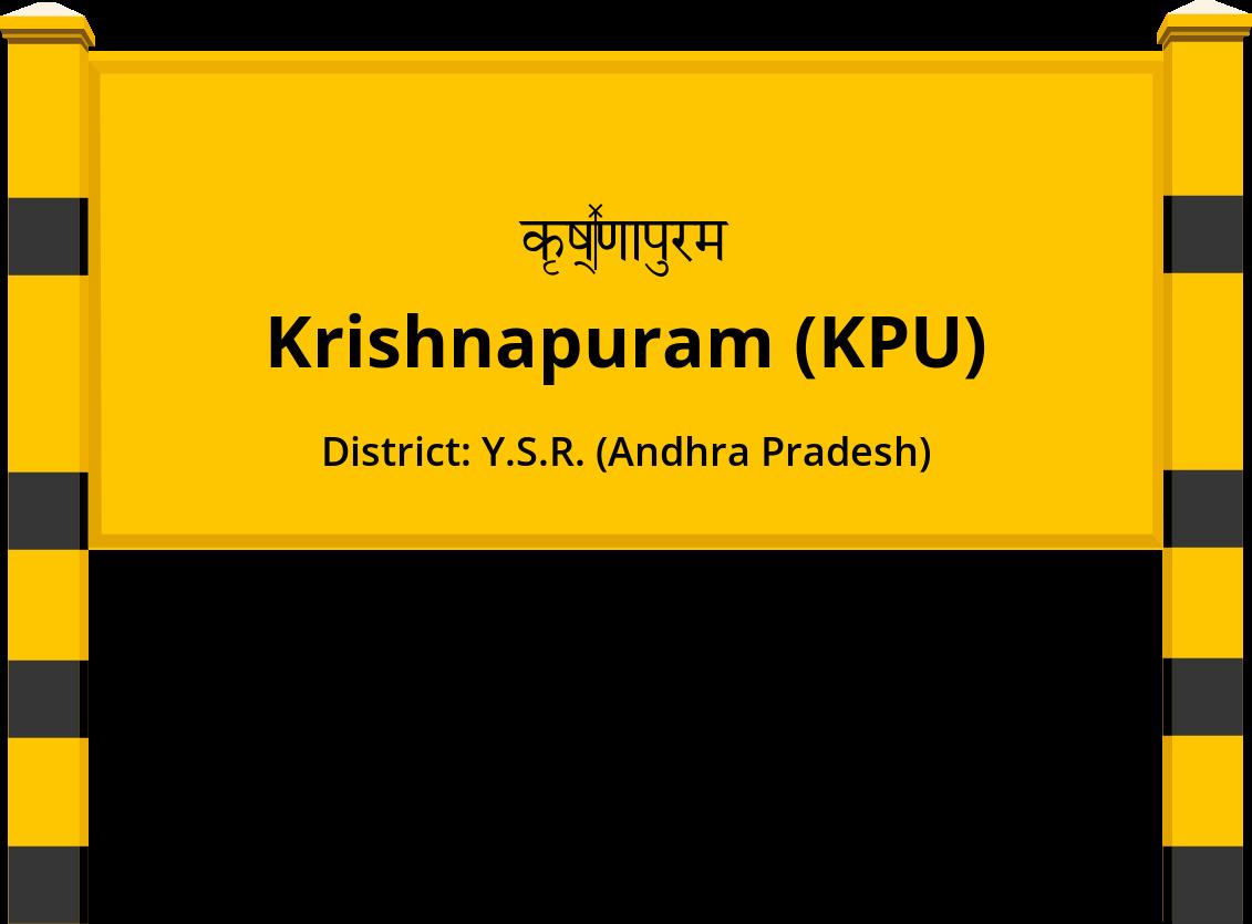 Krishnapuram (KPU) Railway Station