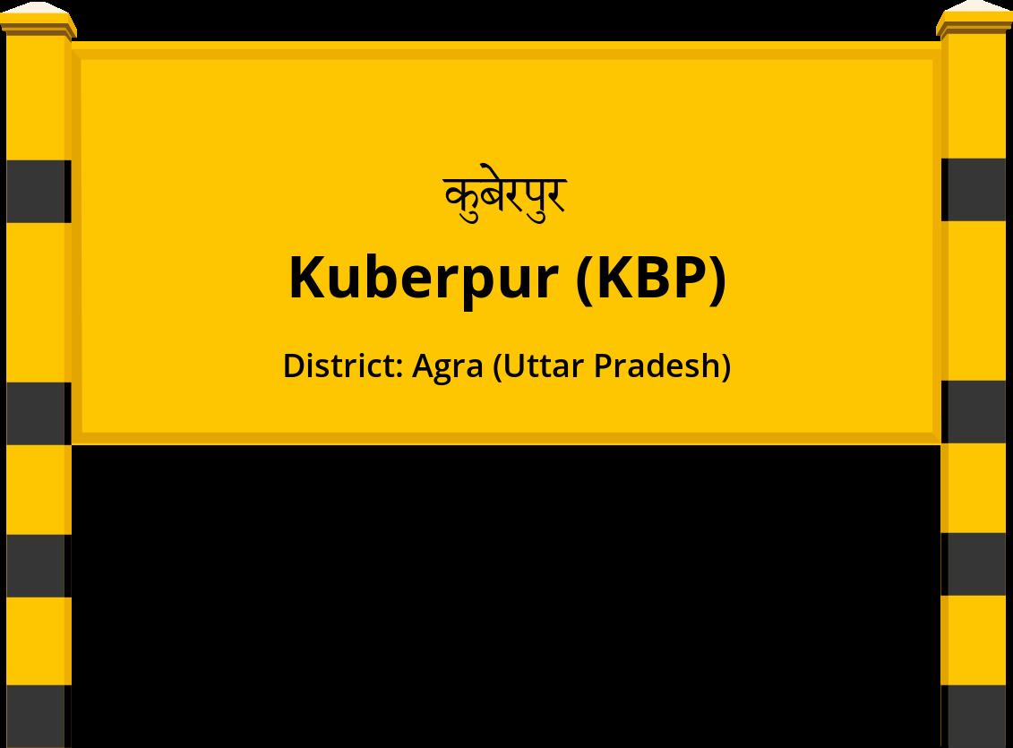 Kuberpur (KBP) Railway Station