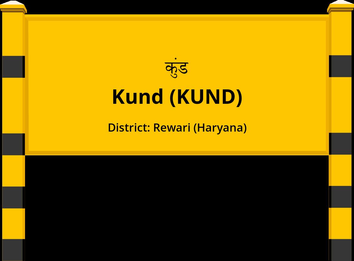 Kund (KUND) Railway Station
