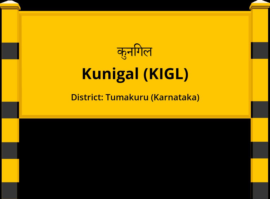 Kunigal (KIGL) Railway Station