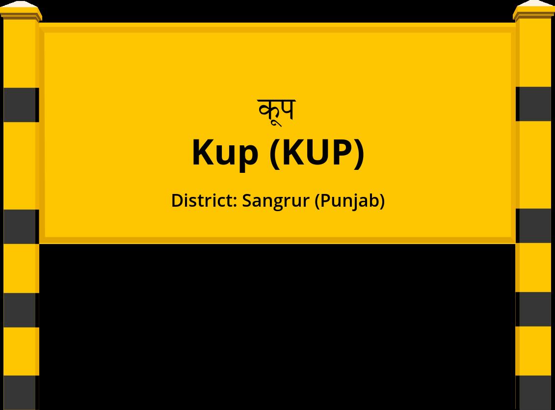 Kup (KUP) Railway Station