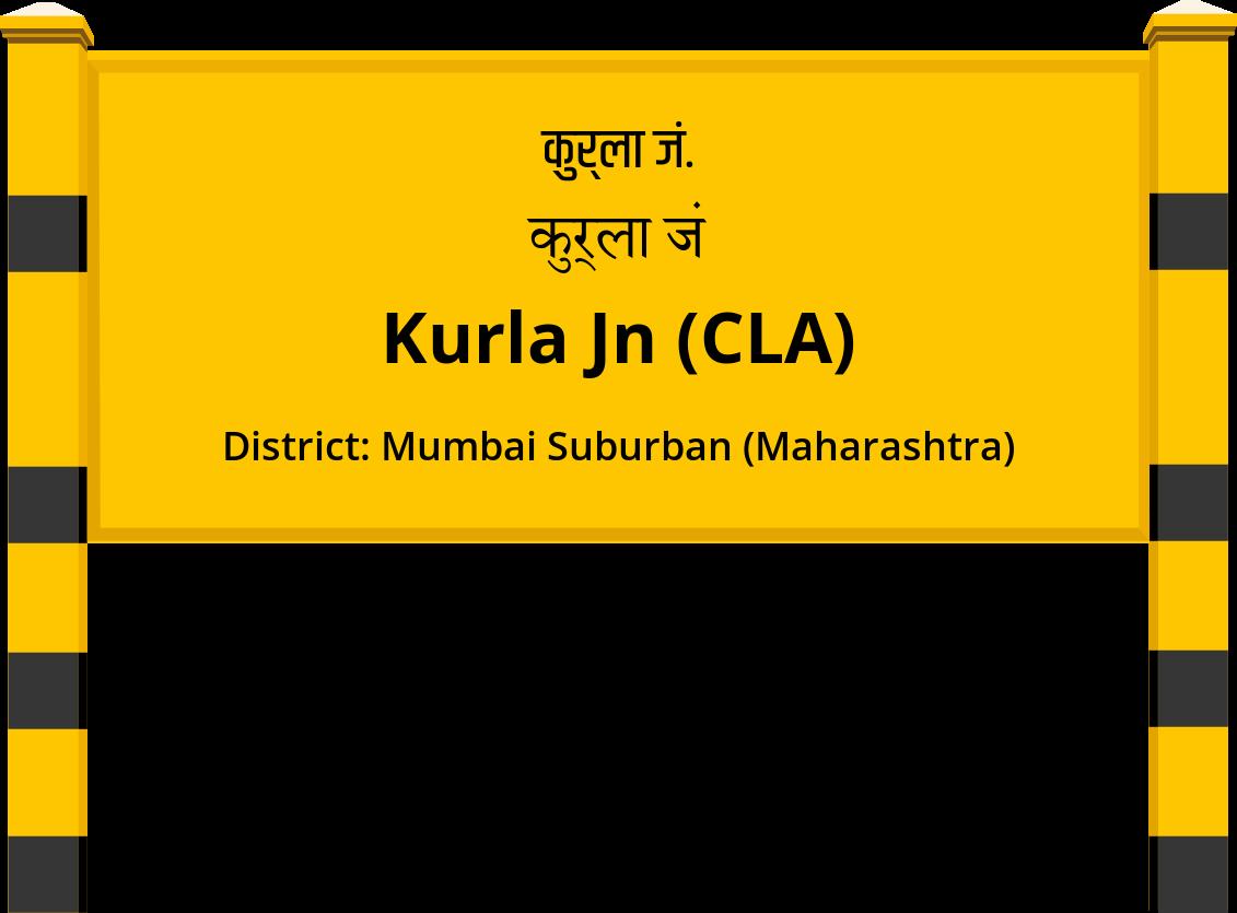 Kurla Jn (CLA) Railway Station