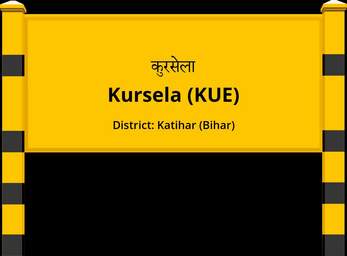 Kursela (KUE) Railway Station