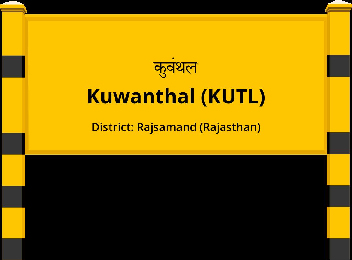 Kuwanthal (KUTL) Railway Station