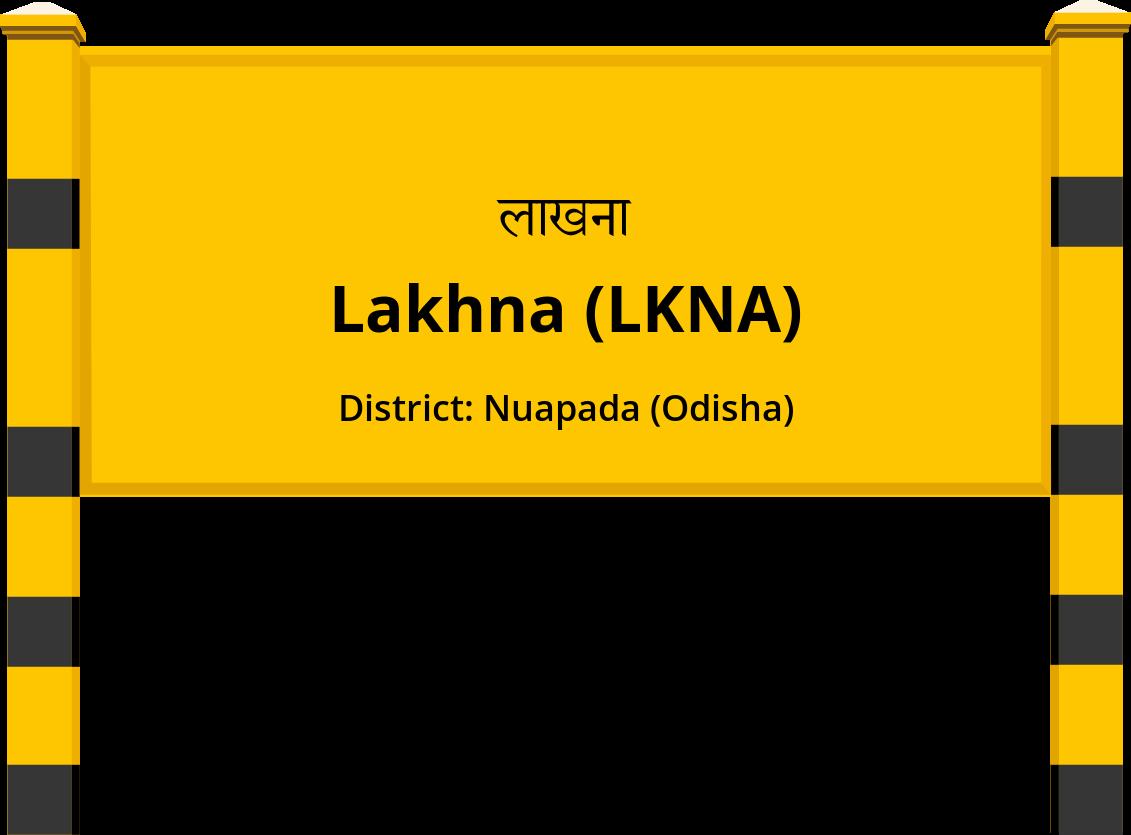 Lakhna (LKNA) Railway Station