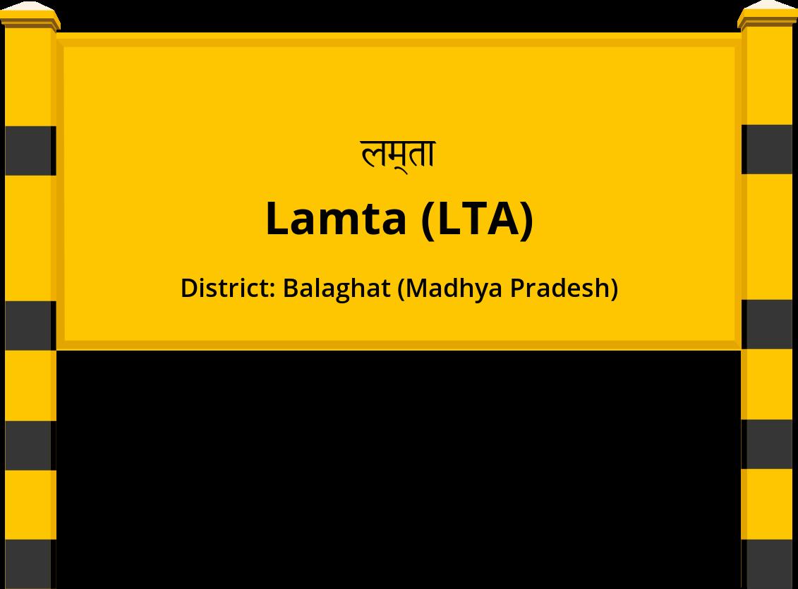 Lamta (LTA) Railway Station