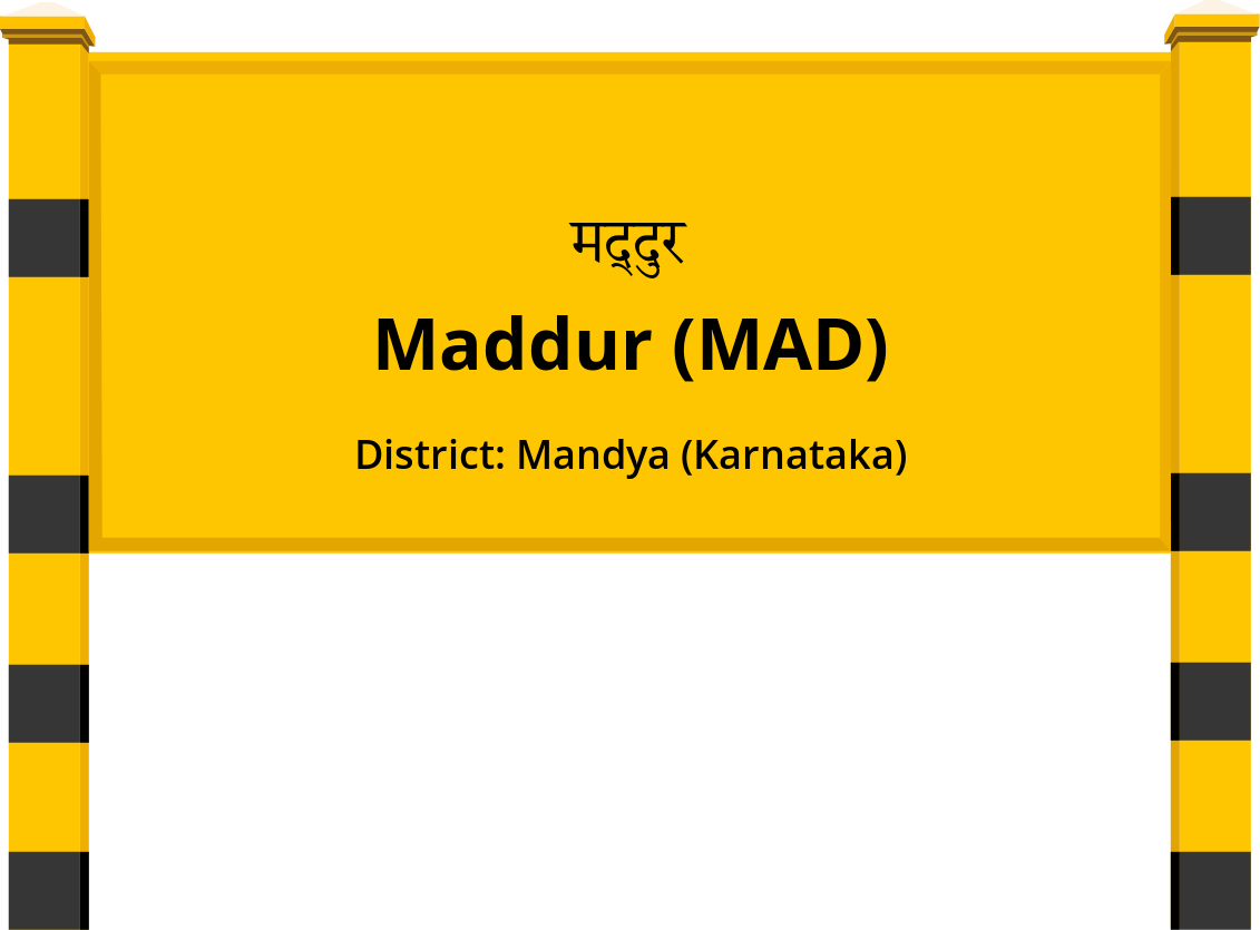 Maddur (MAD) Railway Station