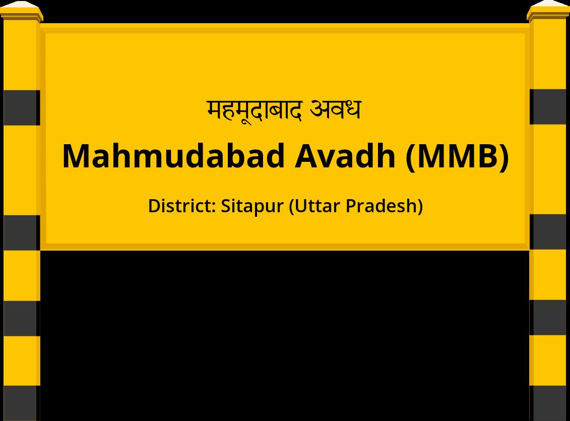 Mahmudabad Avadh (MMB) Railway Station