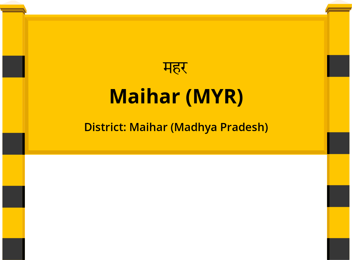 Maihar (MYR) Railway Station
