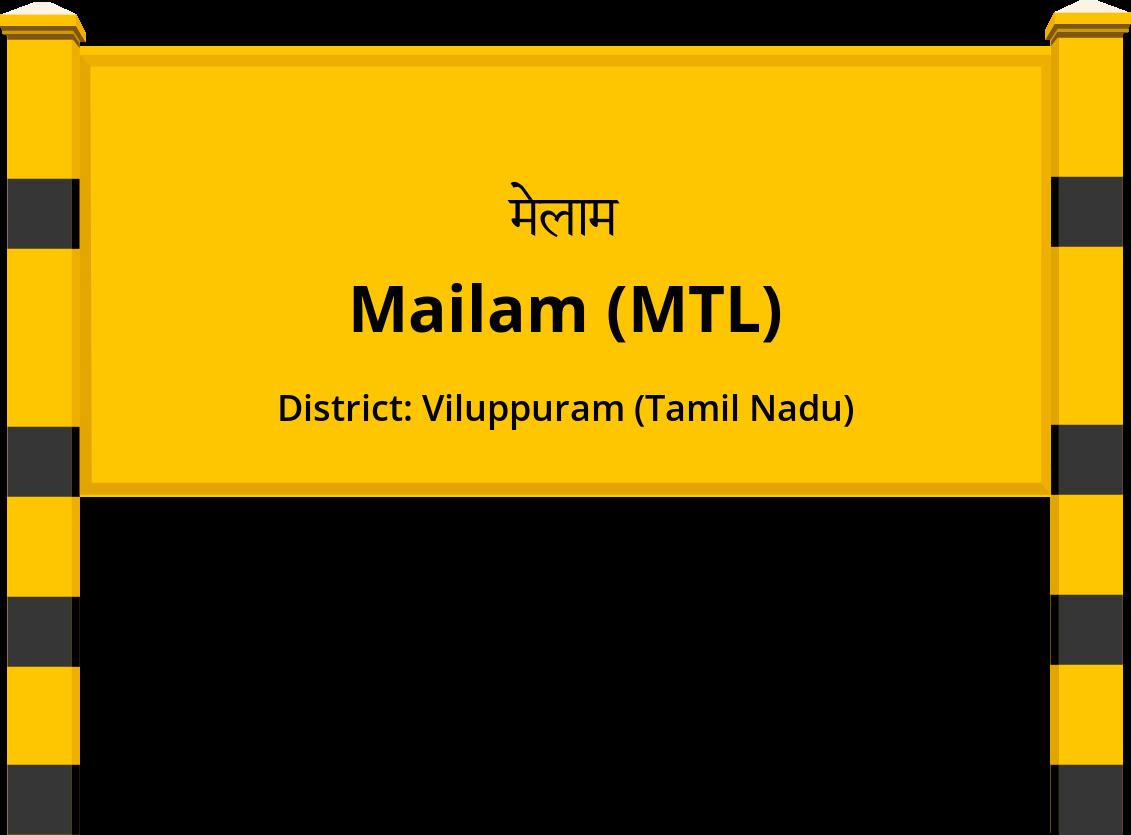 Mailam (MTL) Railway Station