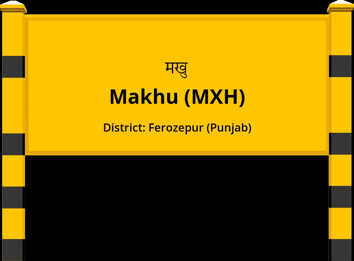 Makhu (MXH) Railway Station