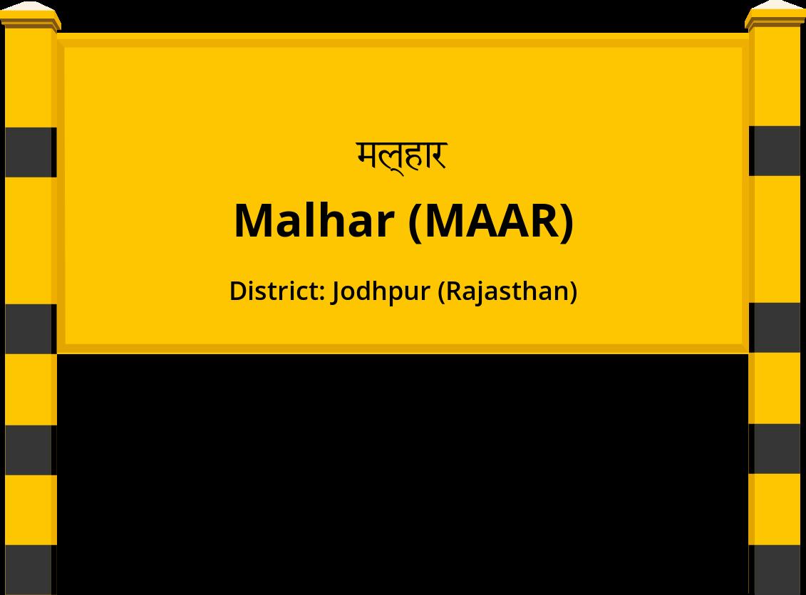 Malhar (MAAR) Railway Station