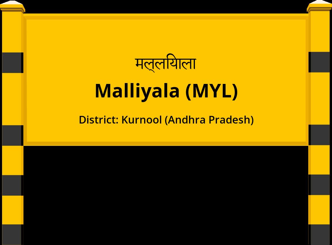 Malliyala (MYL) Railway Station