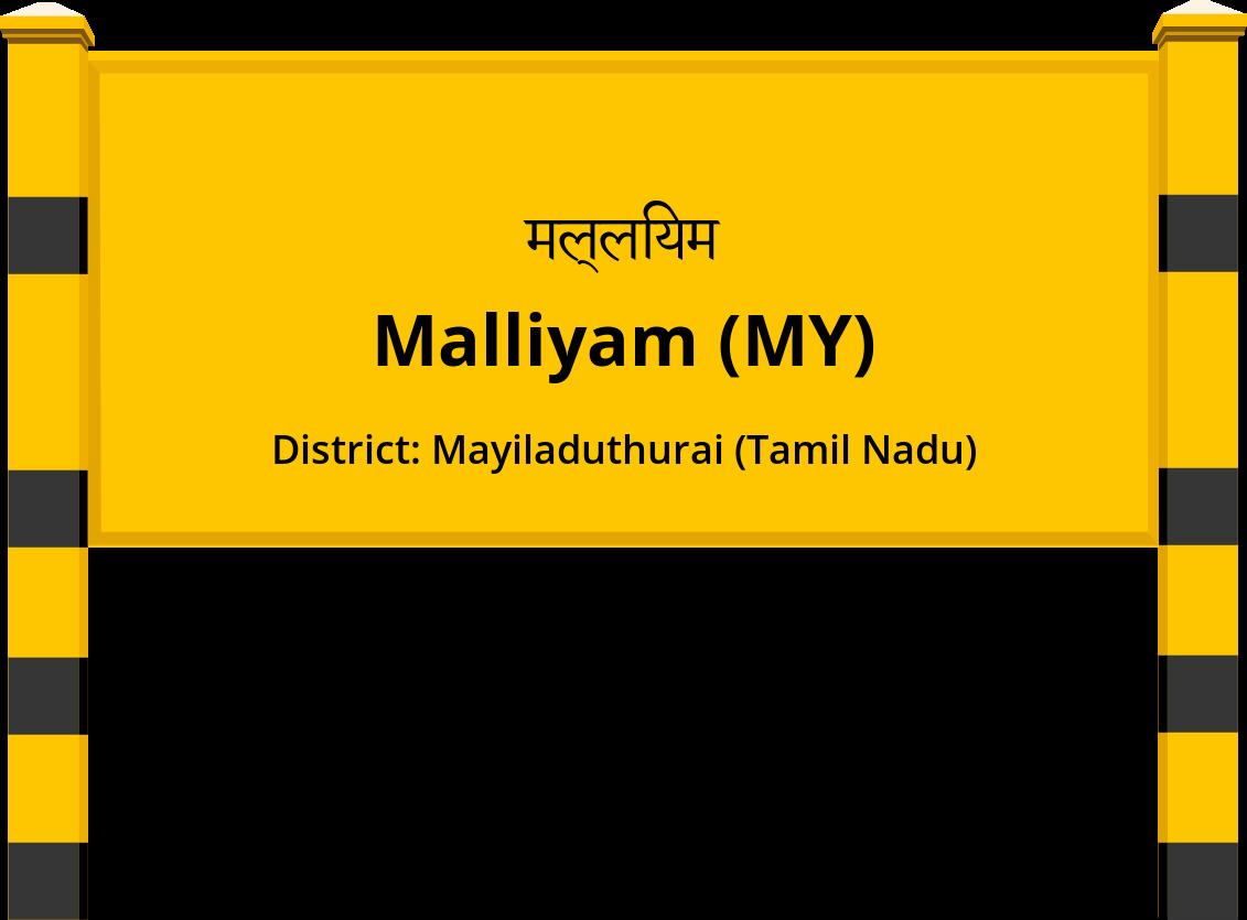 Malliyam (MY) Railway Station