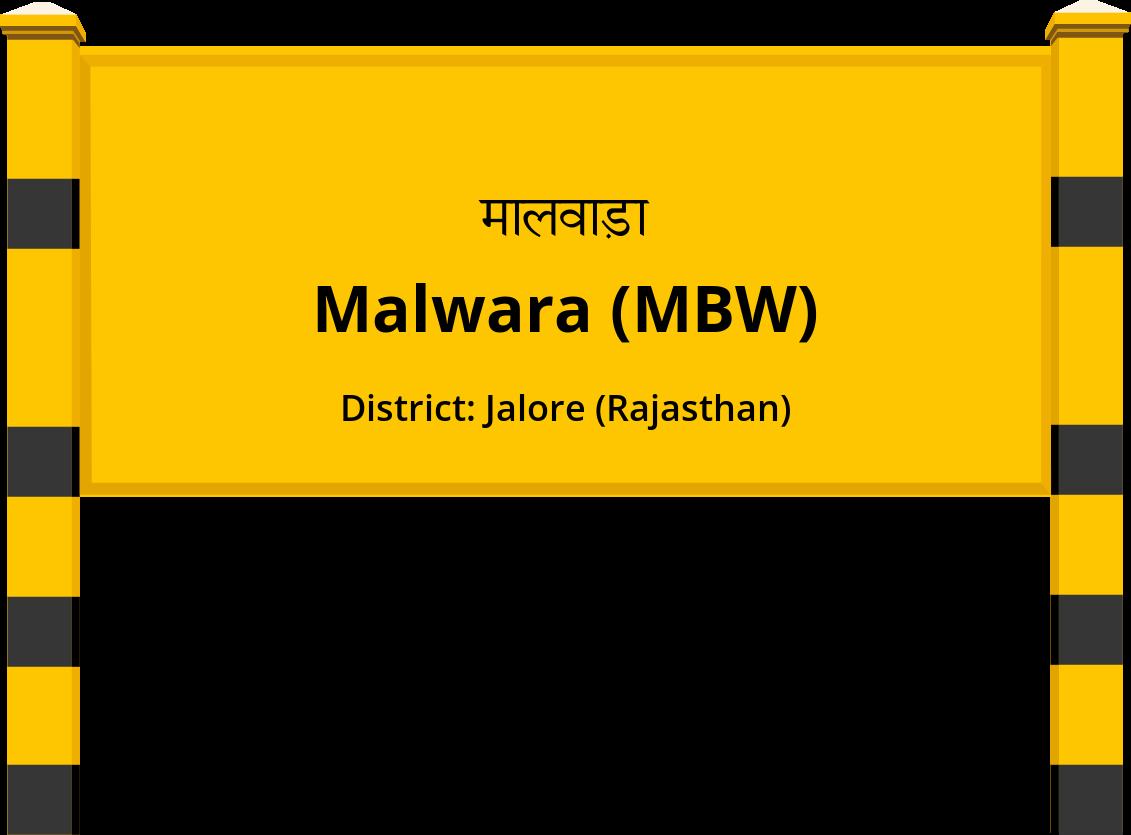 Malwara (MBW) Railway Station