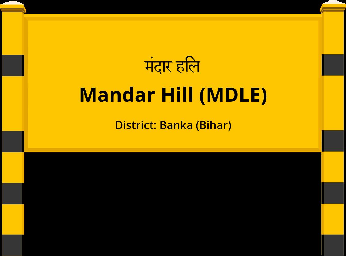 Mandar Hill (MDLE) Railway Station