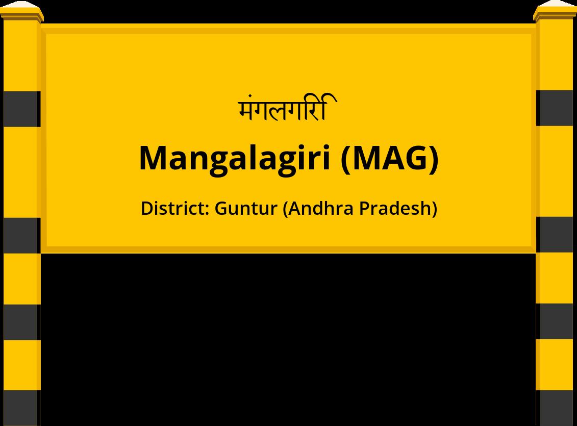 Mangalagiri (MAG) Railway Station