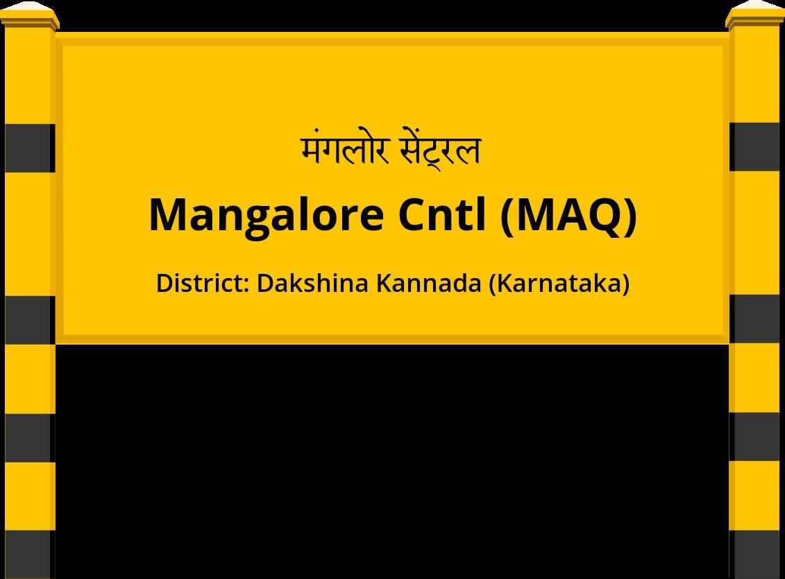 Mangalore Cntl (MAQ) Railway Station