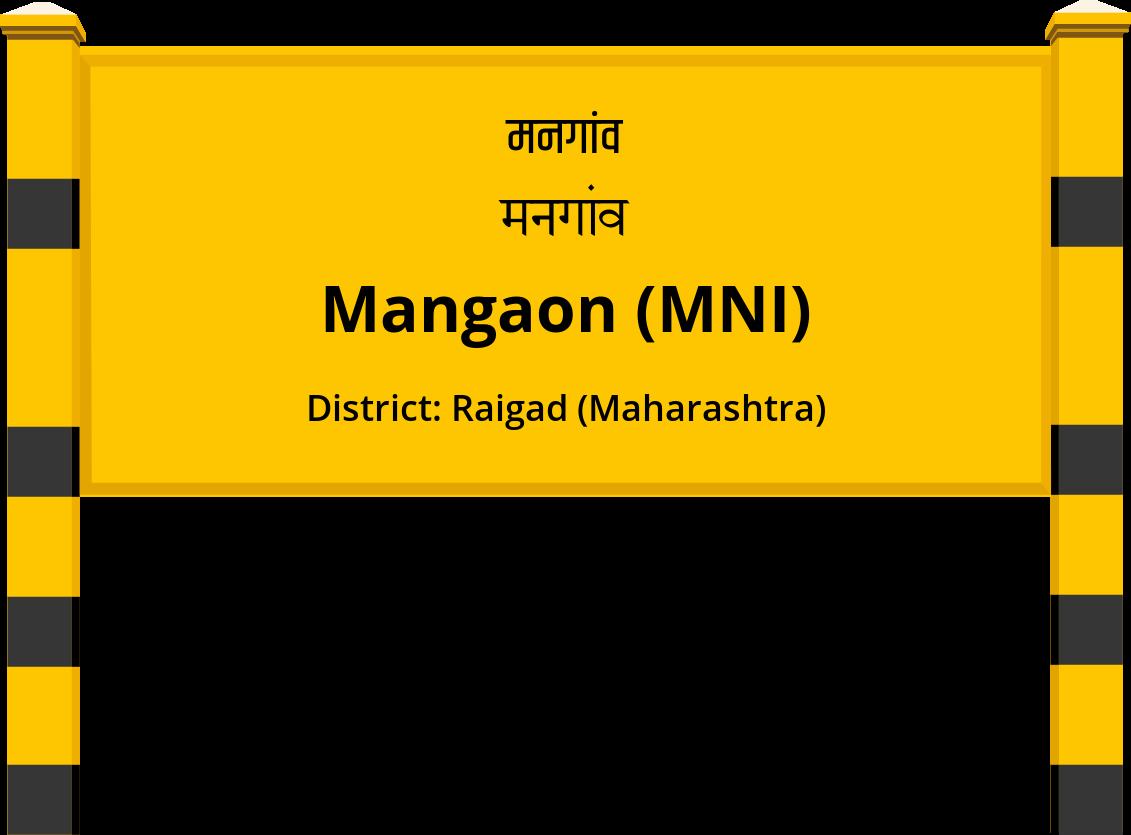 Mangaon (MNI) Railway Station