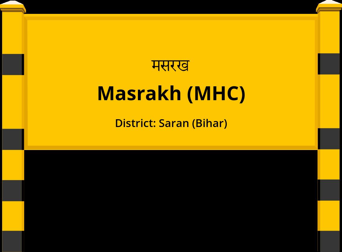 Masrakh (MHC) Railway Station