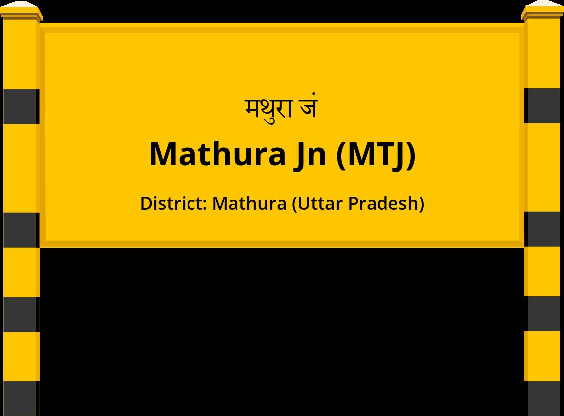 Mathura Jn (MTJ) Railway Station