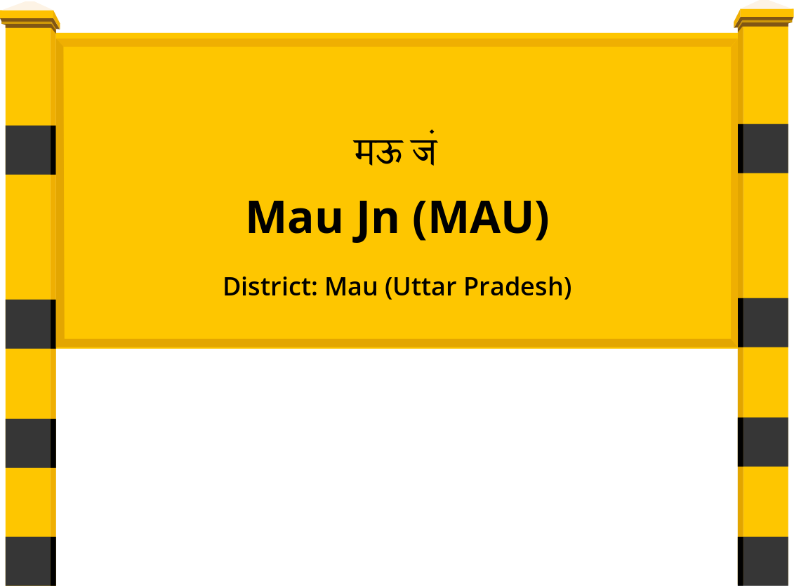 Mau Jn (MAU) Railway Station