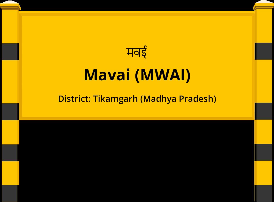 Mavai (MWAI) Railway Station