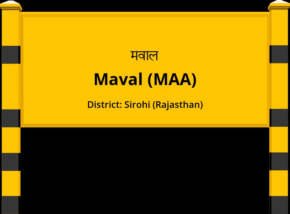Maval (MAA) Railway Station